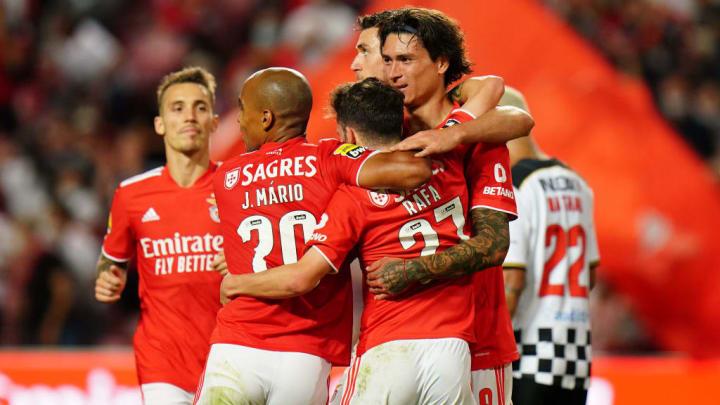 Rafa Silva Primeira Liga Benfica Jorge Jesus