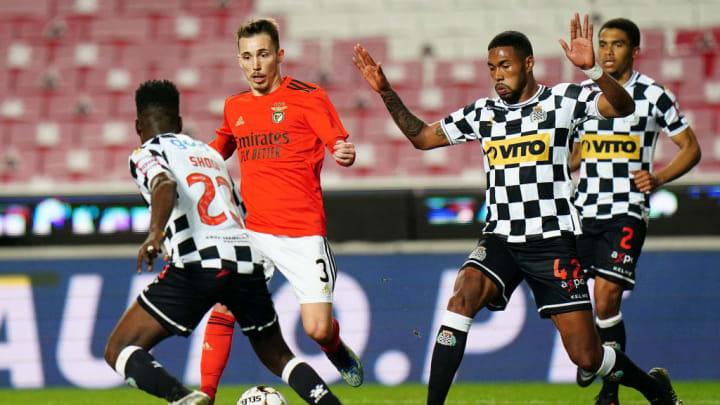 Reginald Cannon Cristian Devenish Show Alex Grimaldo Boavista Benfica