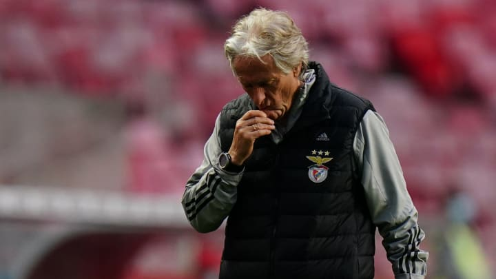 Jorge Jesus é o atual treinador da equipe de Lisboa