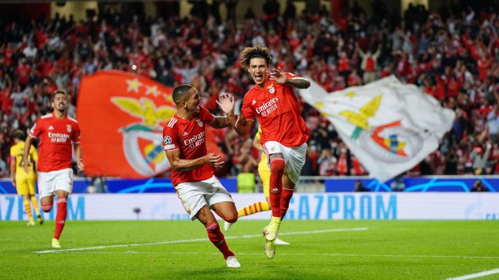 Benfica beat Barcelona