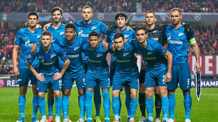 SL Benfica v Zenit St. Petersburg: Group G - UEFA Champions League