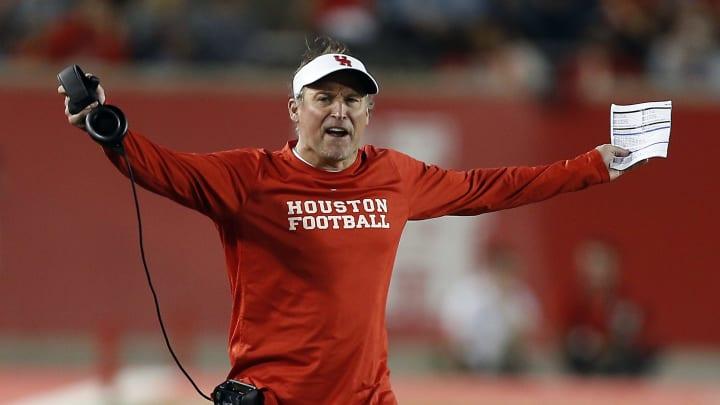 Houston head coach Dana Holgorsen