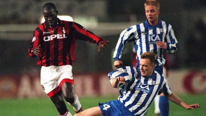 Wurde 1995 Europas Fußballer des Jahres und FIFA-Weltfußballer: George Weah