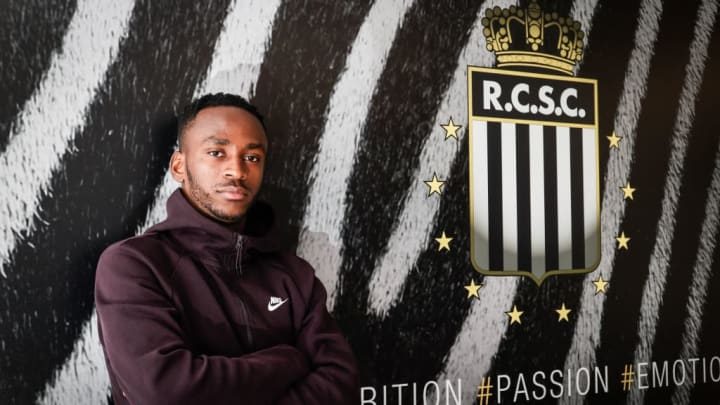 SOCCER JPL CHARLEROI NEW PLAYER BERAHINO