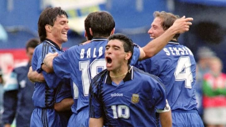 SOCCER-WORLD CUP-1994-MARADONA
