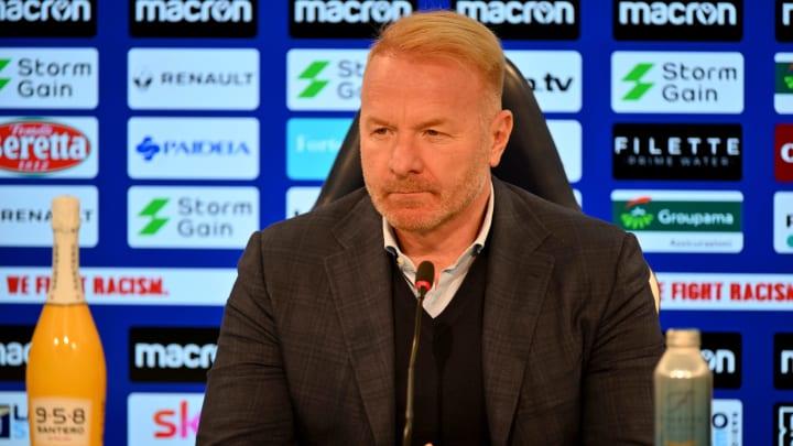 Igli Tare könnte nach 13 Jahren bei Lazio vor einem Abgang stehen. Der frühere Bundesliga-Profi wird von der Eintracht umworben.