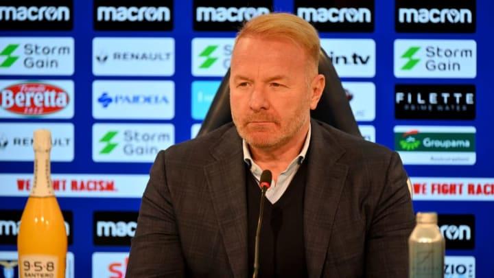 Igli Tare arbeitet seit Jahren erfolgreich bei Lazio Rom