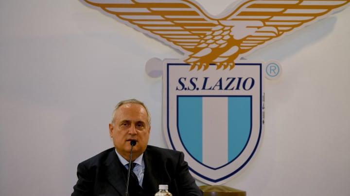 Lotito, presidente della Lazio