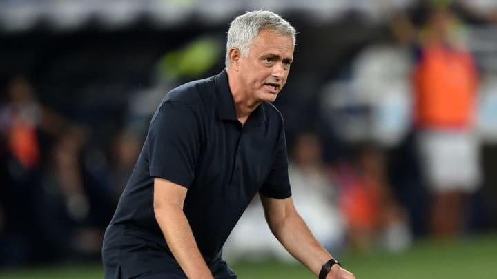 Die ganz große Lust auf Conference League verspürt José Mourinho nicht...