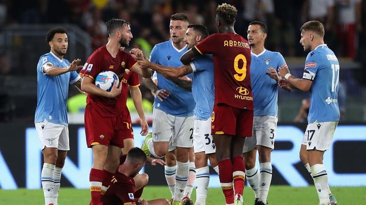 La cronaca di Lazio-Roma, gara della 6ª giornata di Serie A
