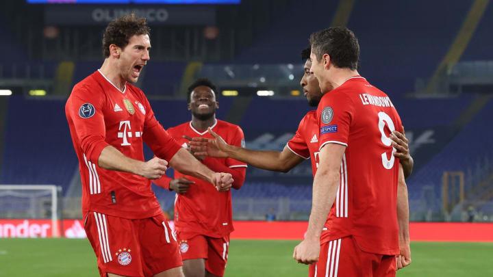 Der FC Bayern hatte gegen Lazio keine Probleme