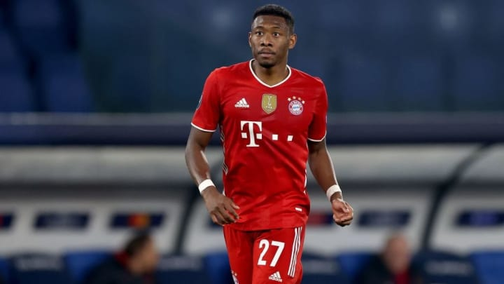 David Alaba Bayern PSG Champions League