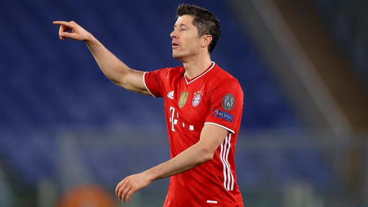 El polaco Robert Lewandowski habló sobre su futuro, pero prefiere concentrarse en su presente con el Báyern Múnich.