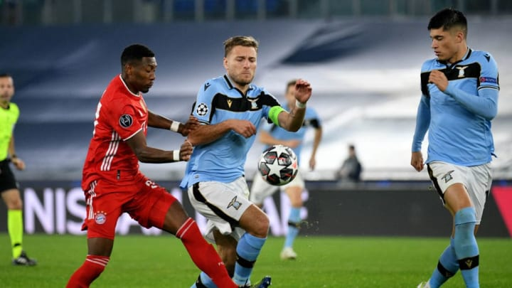 Ciro Immobile, David Alaba, Bayern de Munique, Lazio, Champions League