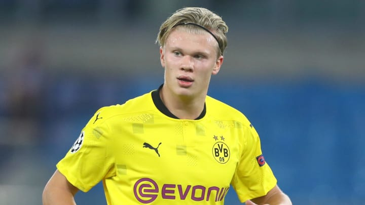 Earling Haaland's Dortmund release clause will become active in 2022