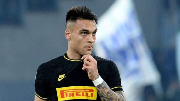 Ganz weit oben auf Barcelonas Wunschliste: Lautaro Martínez von Inter Mailand