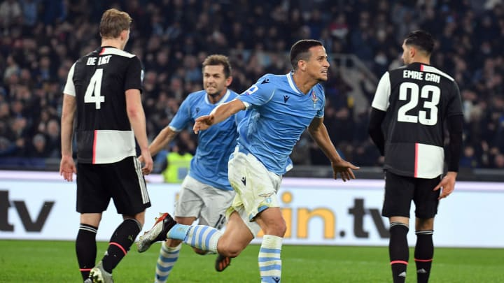 Juventus and Lazio look set to fight it out for the Scudetto