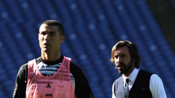 Andrea Pirlo, Cristiano Ronaldo