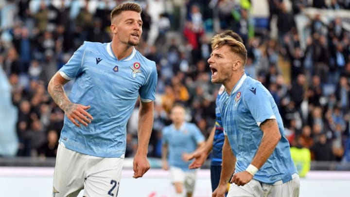 Milinkovic-Savic and Ciro Immobile are Lazio's two standout performers.