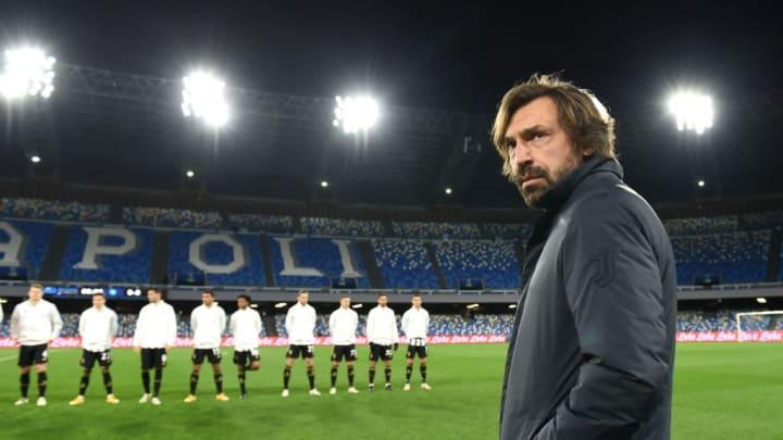 Andrea Pirlo est désormais l'entraîneur de la Juventus.
