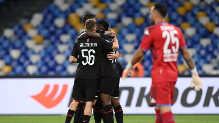 Hasil Pertandingan Dan Rating Pemain Napoli Vs Ac Milan Serie A 2019 20