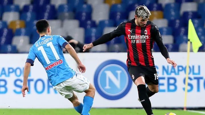 Napoli, Milan, Serie A Tim