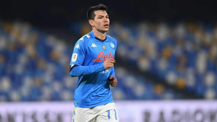 Chucky Lozano podría estar listo para el debut de Napoli en Serie A; revela un periódico