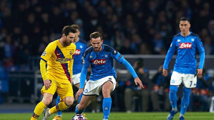 Fabian Ruiz, Lionel Messi