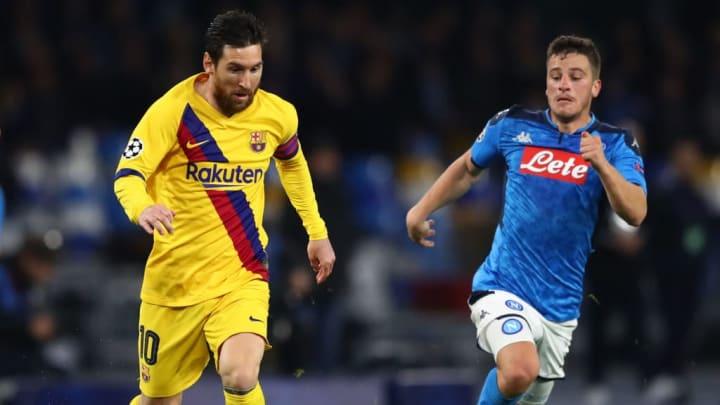 Diego Demme, Lionel Messi