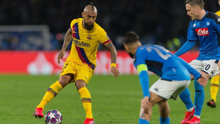 FC Barcelona - SSC Neapel | Die offiziellen Aufstellungen