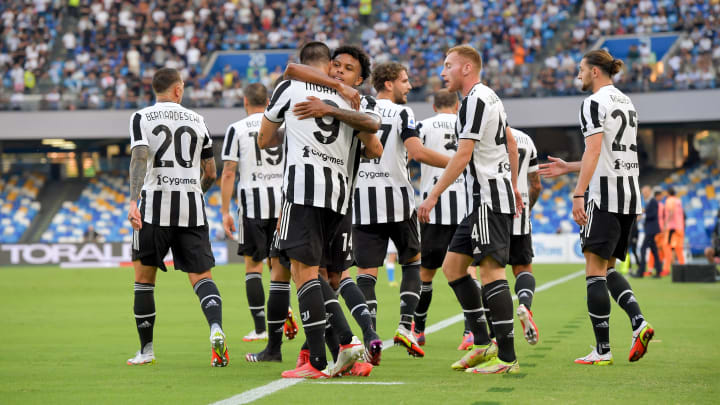 Juventus will be looking to bounce back after a poor start in Serie A
