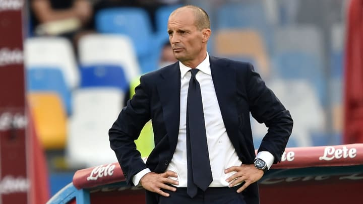 Massimiliano Allegri has collected just one Serie A point out of a possible nine since returning to Juventus