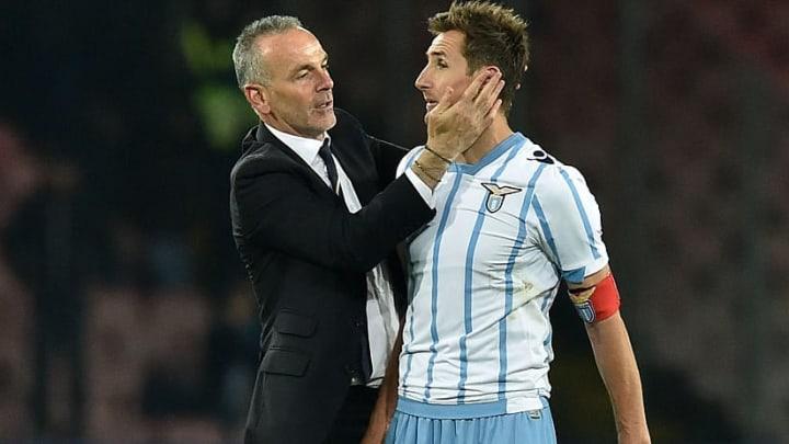In Mailand wiedervereint: Stefano Pioli und Miroslav Klose (v.l.)