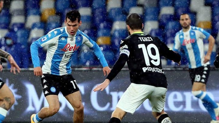 SSC Napoli v Spezia Calcio - Serie A
