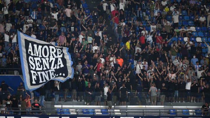 """Tifosi del Napoli al """"Maradona"""""""