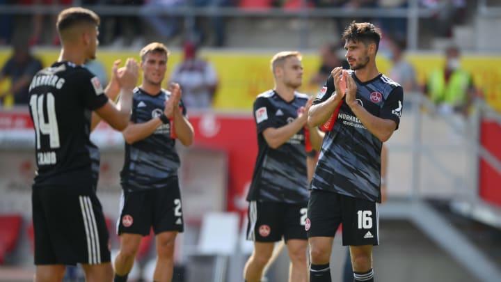 1. FC Nürnberg - Hansa Rostock: Die offiziellen Aufstellungen
