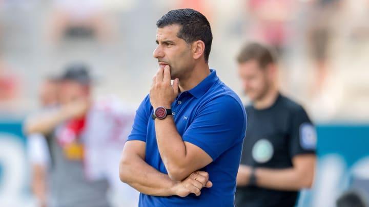 Dimitrios Grammozis konnte Schalke erneut nicht zum Sieg führen