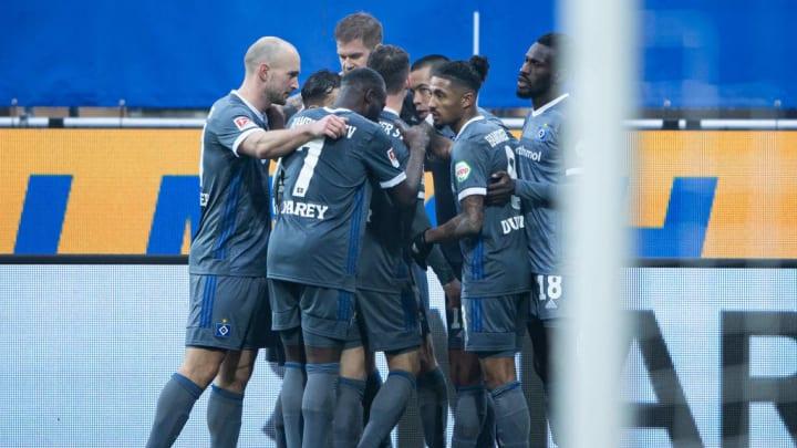 Nach fünf sieglosen Spielen in Folge konnten die HSV-Spieler endlich mal wieder einen Sieg bejubeln