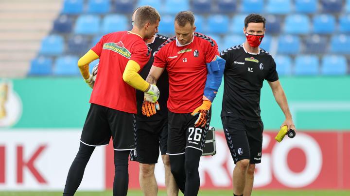 Flekken verletzte sich vor dem Spielanpfiff der heutigen Pokal-Begegnung