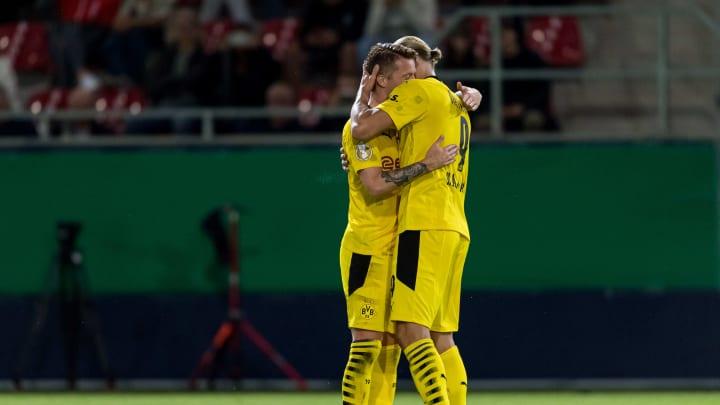 Der BVB hofft auf Marco Reus und Erling Haaland
