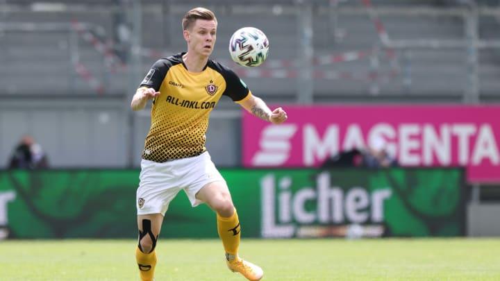 Julius Kade war bei Dynamo Dresden Stammspieler