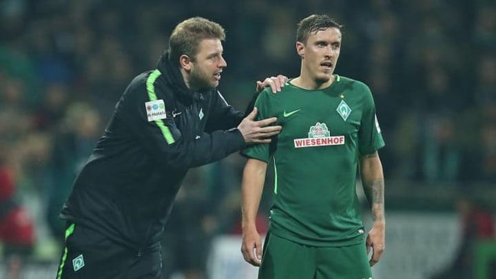 Werder-Trainer Kohfeldt würde eine Rückkehr von Leistungsträger Kruse tierisch freuen