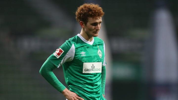 Josh Sargent (20) weiß bei Werder weiter nicht mit Toren zu überzeugen