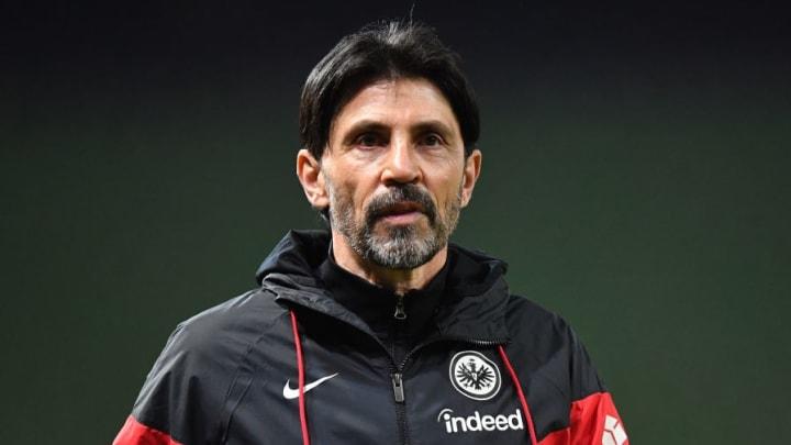 Eintracht-Sportdirektor Bruno Hübner