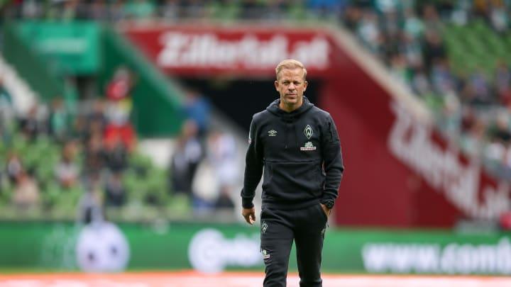 Werder-Coach Markus Anfang muss im Vergleich zum 3:0 Sieg gegen Rostock auf mehreren Positionen umstellen