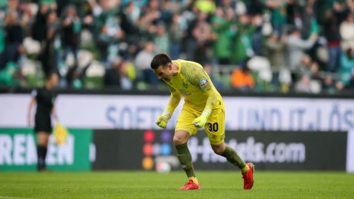 Michael Zetterer als Stammtorwart bei Werder Bremen