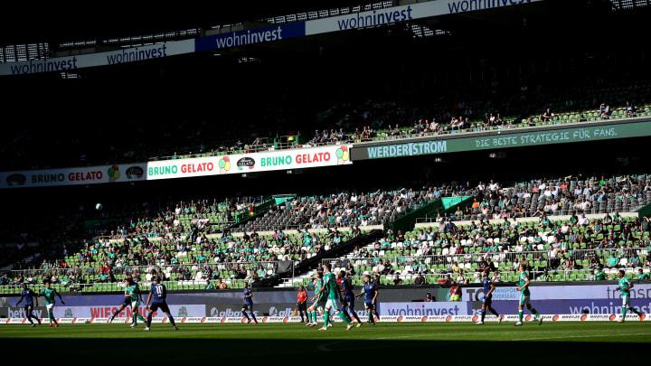 Das Weserstadion in Bremen.