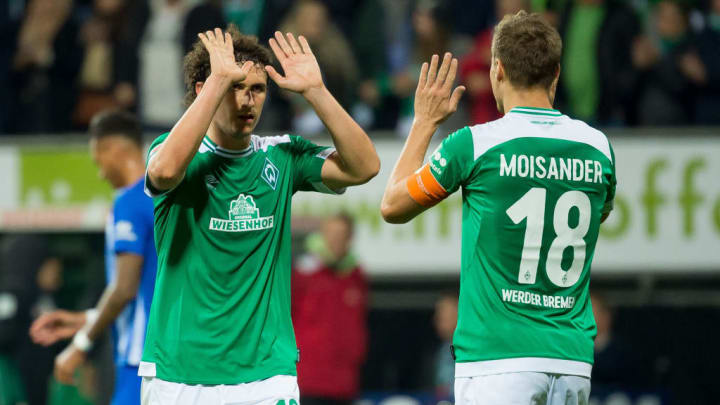Veljkovic und Moisander: Werders einstiges IV-Duo könnte schon bald Geschichte sein