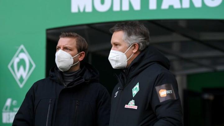 Werder Bremen: Florian Kohfeldt und Frank Baumann
