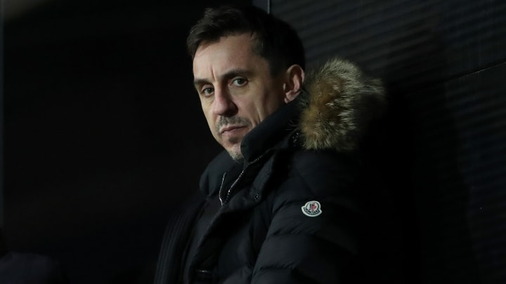 Gary Neville missed out on a Premier League winner's medal on one occasion for Manchester United